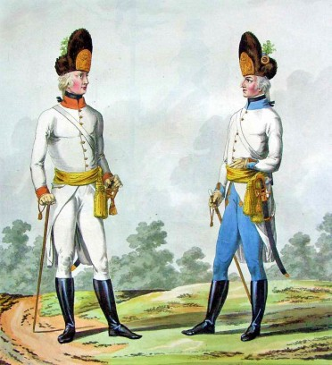 napoleonic austrian uniforms