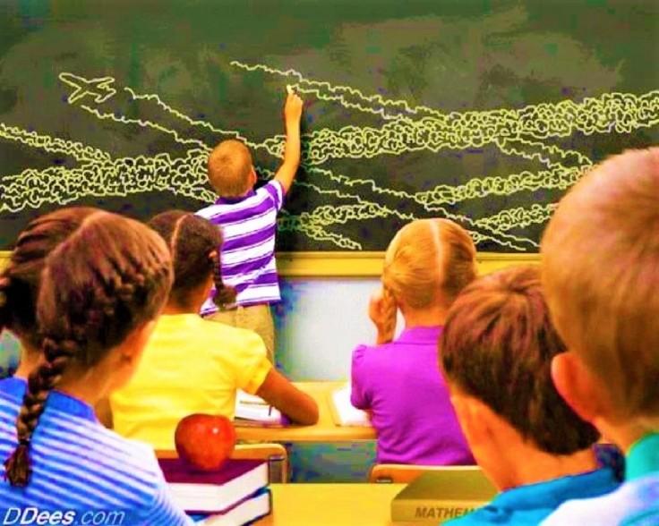 chem chalkboard grande