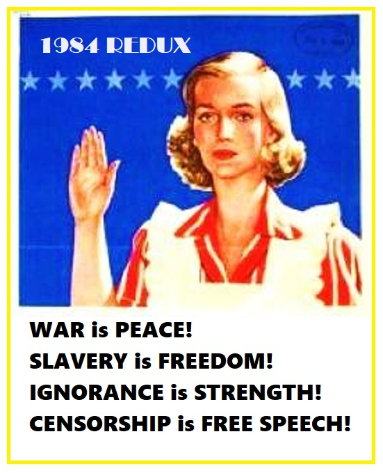 orwell war is peace REDUX