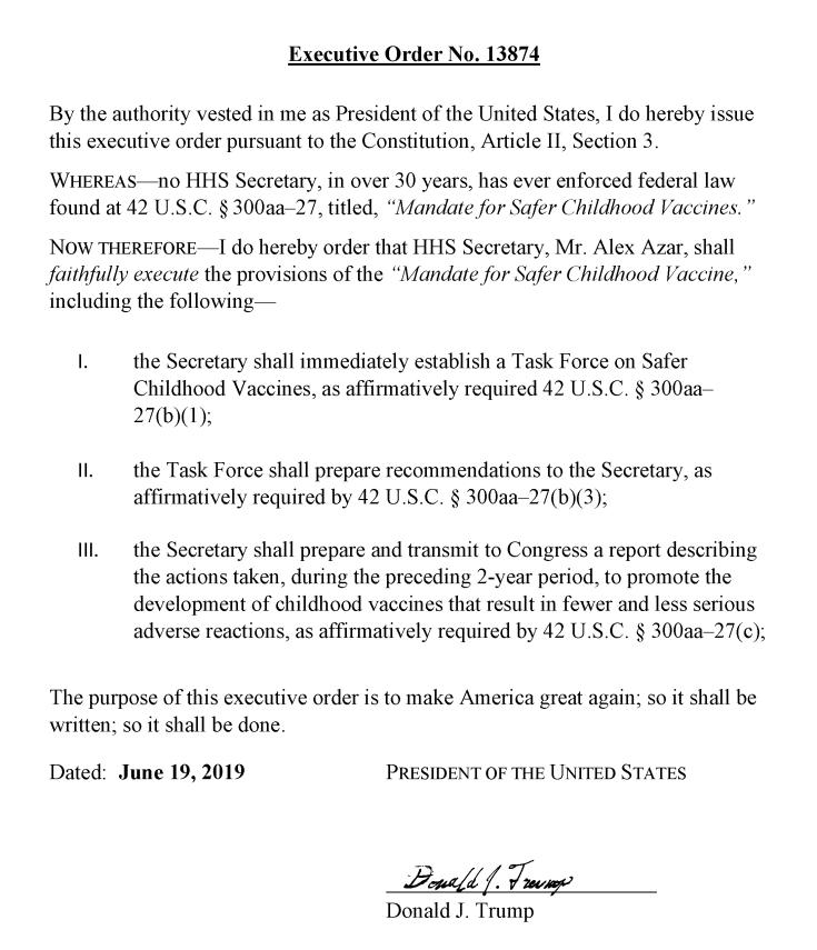 TRUMP Executive Order1