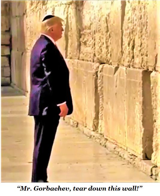 trump wall gorbachev