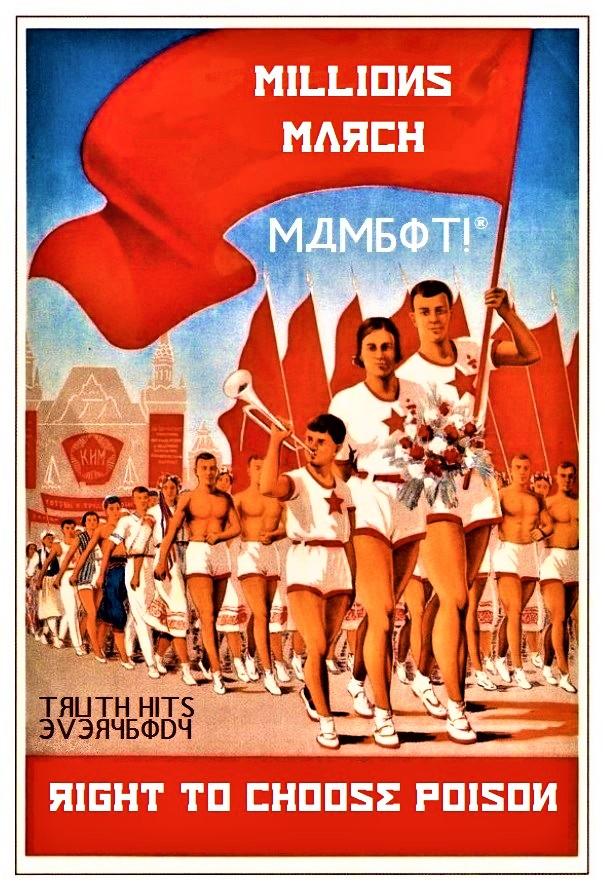 soviet mam millions march